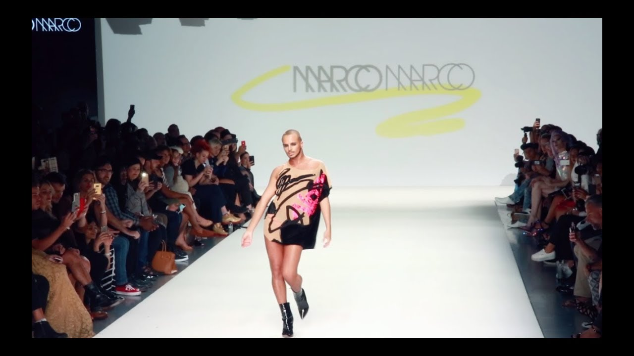 Marco Marco Spring Summer Fashion Week 2018 Dubai Fashion Tv