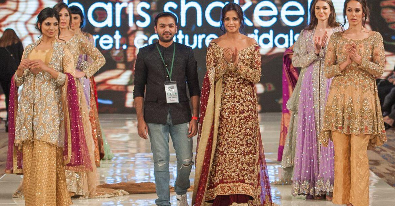 Fashion designer Haris Shakeel new collection 2017-18