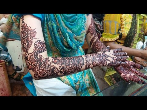 Mehndi Bridal Design Latest : Latest bridal mehndi designs collection