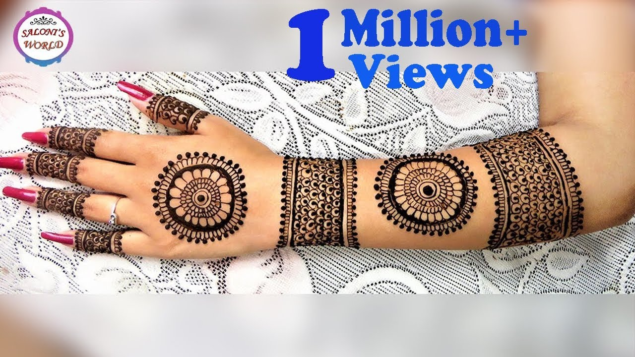 Mehndi Designs And S : New stylish bridal mehndi designs for hands u2013 dubai fashion tv
