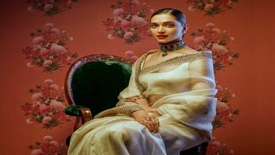 Deepika Padukone For SabyaSachi X Nilaya Asian Paints Campaign