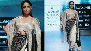 Yami Gautam Walks For Manish Malhotra X Woolmark Company | Spring/Summer 2018 | Lakme Fashion Week