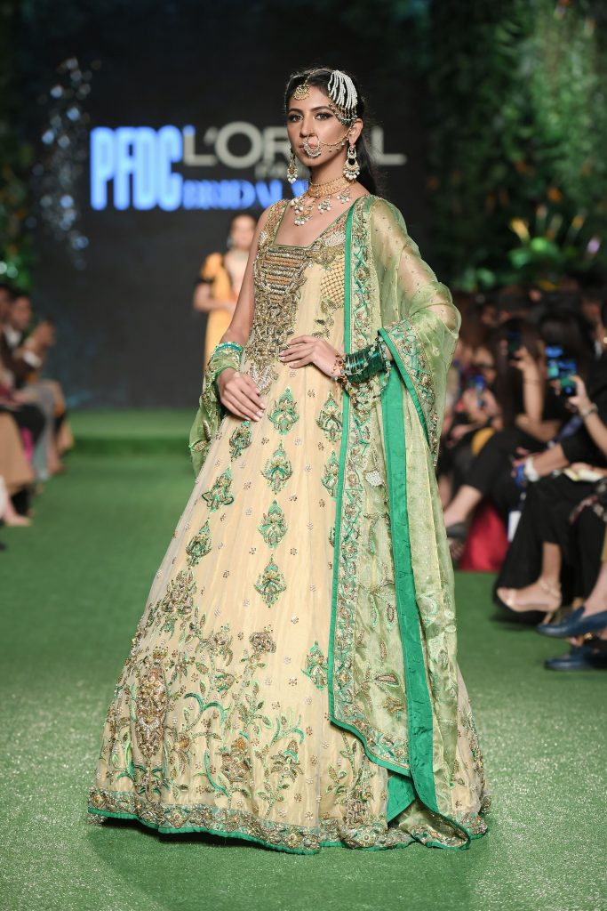Bridal dresses, Ramp, Pfdc day 2