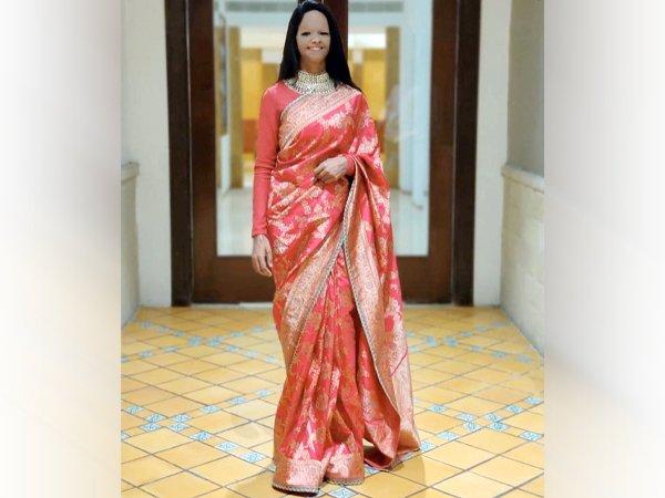 Laxmi Agarwal, Royal look, Acid attack survival, Triditional Look