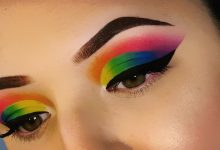 Rainbow eyes, Eye makeup, Trendy makeup, TREND2020