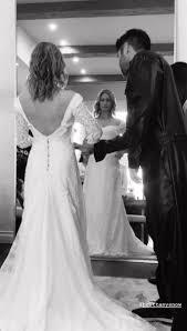 "brittany snow on Twitter: ""Wedding dress by Jonathan Simkhai. She ..."